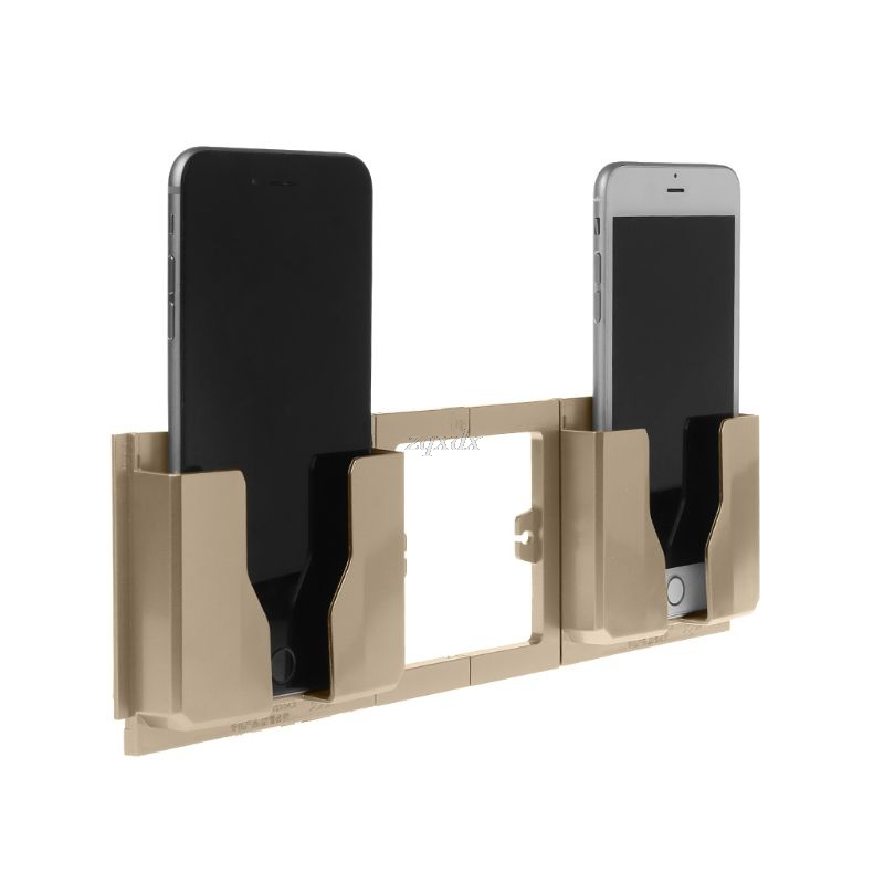 Fashion Wall Cell Phone Holder Shelf Or Stand With Mount 2