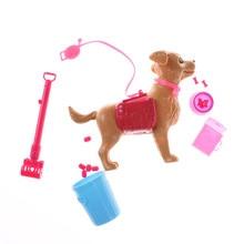1:6, кукольный дом, аксессуары, пластиковая Собачья еда, кости, снаружи, кукольная игрушка, наборы для домашних животных, для Барби, Кен, кукольный игровой дом, раннее образование