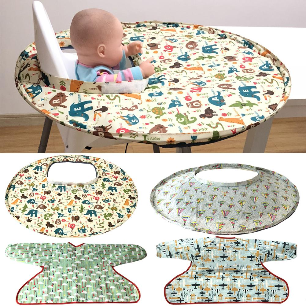 4 Types Foldable Kids Dining Chair Cover Portable Eating Mats Dining Chair Tray Anti-food Drop Baby Feeding Accessories