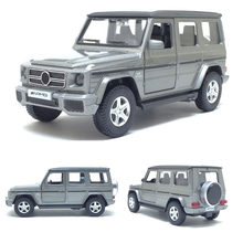 High Simulation RMZ City 1:36 AMG G63 Diecasts Model Toy Metal Car Classical Alloy SUV Model Excellent For Children Gifts(China)