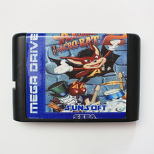Aero The Acro Bat 2 16 Bit Mega Drive Game Card For Sega Video Game Console