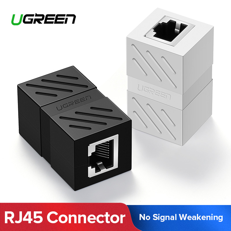 Ugreen RJ45 Connector Cat7/6/5e Ethernet Adapter 8P8C Network Extender Extension Cable for Ethernet Cable Female to Female 2 4ghz wireless night vision surveillance camera with 2 4 lcd handheld two way speaker receiver