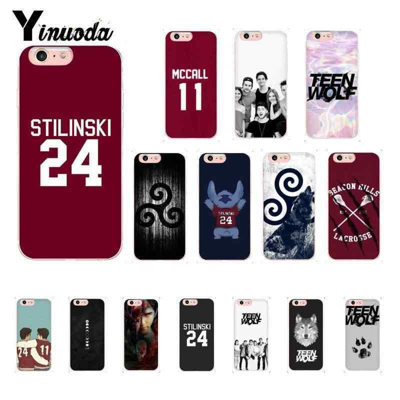 Yinuoda التين وولف Stilinski 24 ماكول 11 LAHEY 14 جراب هاتف ل iPhoneX XSMAX 6 6S 7 7 زائد 8 8 زائد 5S XR 11 11pro 11 بروماكس