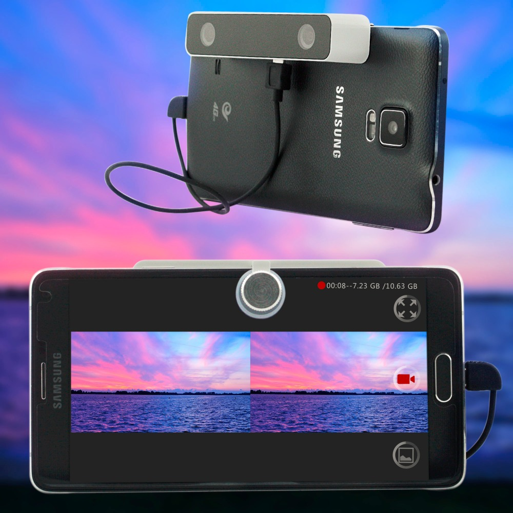 dual lens 3d camera