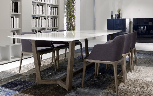 Us 3298 0 Wooden Chairs Family Wood Tables Wood Dining Italian Marble Dining Table Taiwan Europe And The United States Hdf Table Di Meja Makan Dari