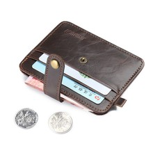Slim Mini Purses Credit Card Holder Card bag Men's Wallets Coin Purse Artificial Leather Card Case women bag Vintage Boy Gift