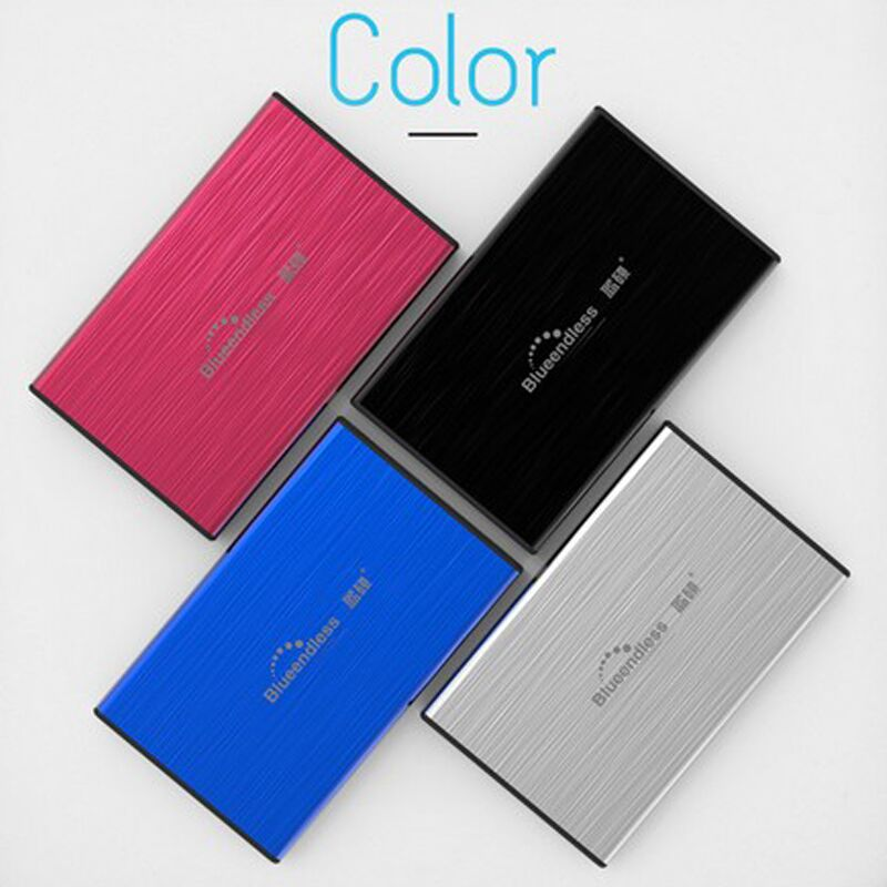 HDD 2.5 Portable External Hard Drive 1TB 750GB 2tb HD Externo usb3.0 for Desktop and Laptop Hard Disk