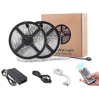 20 Colors LED Strip Lights Waterproof SMD5050 RGB LED Tape 6A 44 Key Remote DC12V 5M 10M LED Neon for TV Background Lighting