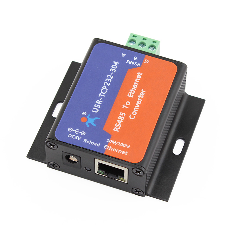 USR-TCP232-304 RS485 to TCP/IP Server RS485 to Ethernet Converter Support Built-in Webpage