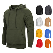 Sportswear Men Solid Hoodies 2018 New Hooded Sweatshirts Camouflage Coats Warm Tracksuit Autumn Cotton Long Sleeved Suprem Hoody(China)