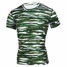 Granatowy zielone paski drukowane koszulki mężczyźni kompresja koszula mężczyźni szczyty męski CrossFit fitness Sportswear Rajstopy koszule Running Joggin tanie tanio Pasuje do mniejszych niż zwykle Sprawdź informacje o rozmiarach tego sklepu ZYMFOX Table Tennis Jerseys Mężczyzn