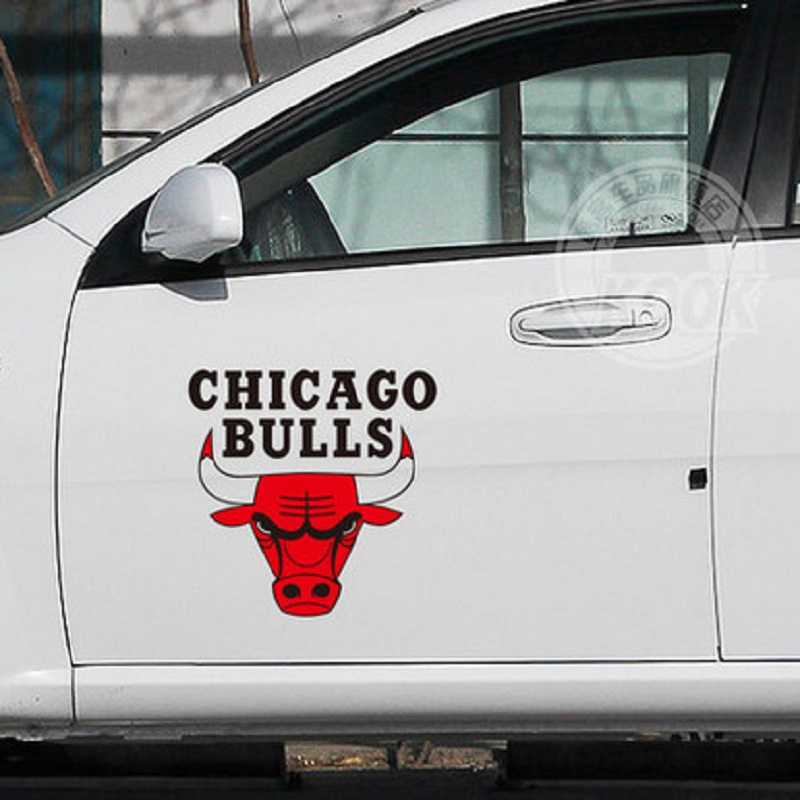 Personalized car stickers logo chicago bulls team logo stickers reflective scratch logo car accessories car covers automobiles on aliexpress com alibaba