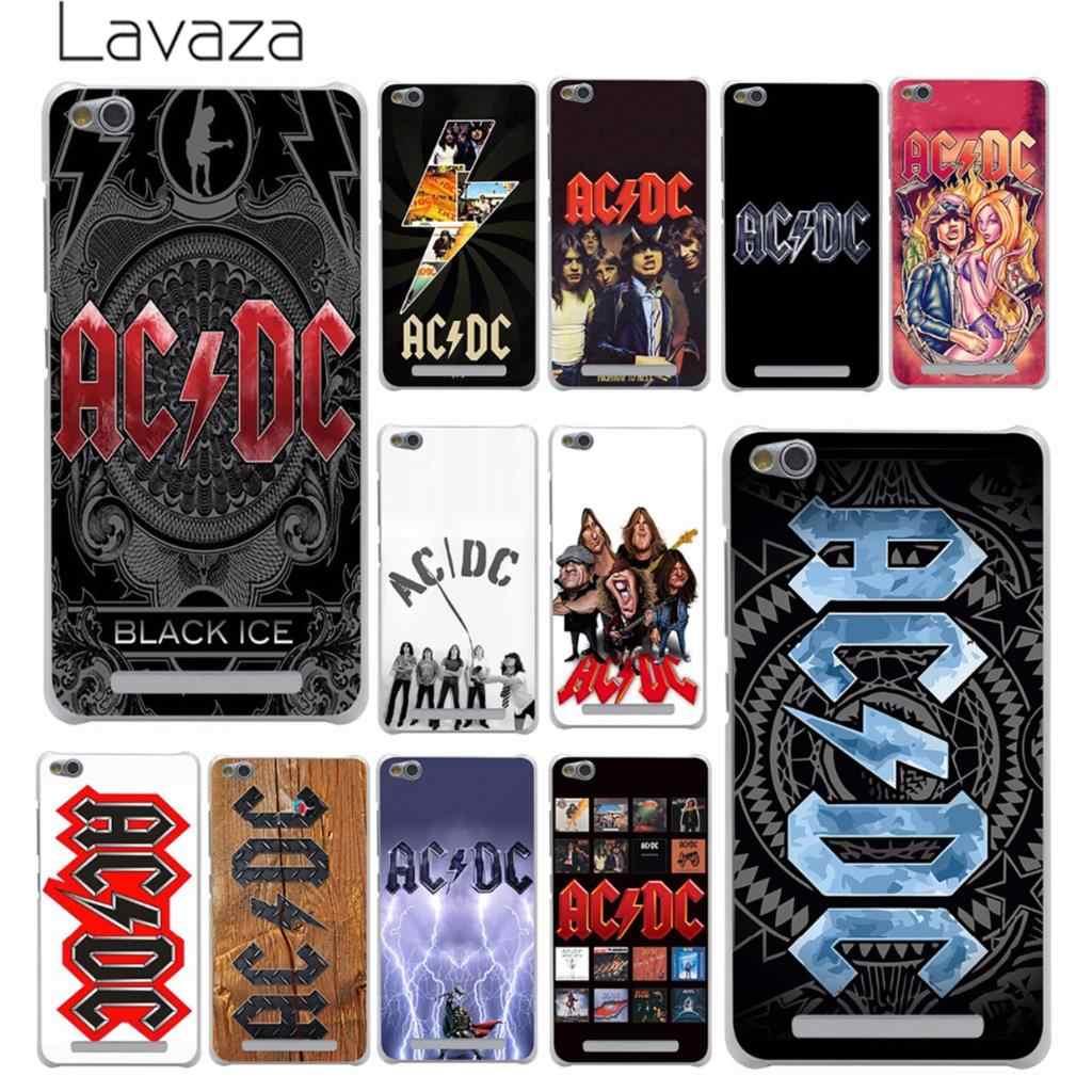Lavazza ac dc acdc plakat muzyka sztywne etui na telefon obudowa do xiaomi Redmi 8A 7A 6A 5A 4A K20 uwaga 8 7 5 6 Pro 4 4X pokrywa