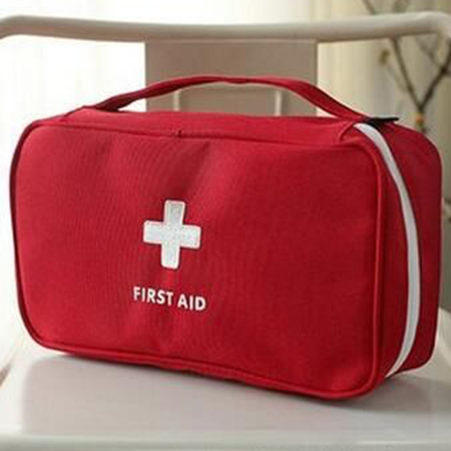 Hot Sale Portable First Responder Storage Bag First Aid Emergency Medical Bag For Outdoor Travel Storage Bag medicine kit