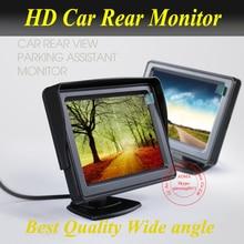 Высокое разрешение 4.3 » TFT жк-автомобилей зеркало заднего вида монитор 4.3 дюймов 16:9 12 в постоянного тока В автомобиль монитор для dvd-видеомагнитофон