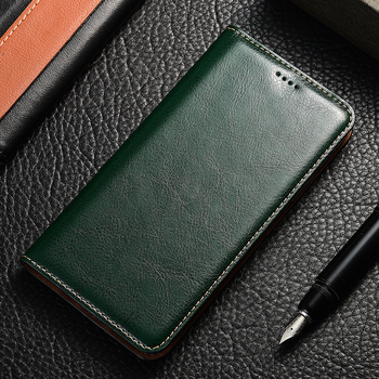 Genuine Leather Flip Case For Huawei Honor 4a 4c 4x V9 V10 V20 Play Mate 8 9 10 20 RS SE Pro Lite Crazy horse Holder Back cover