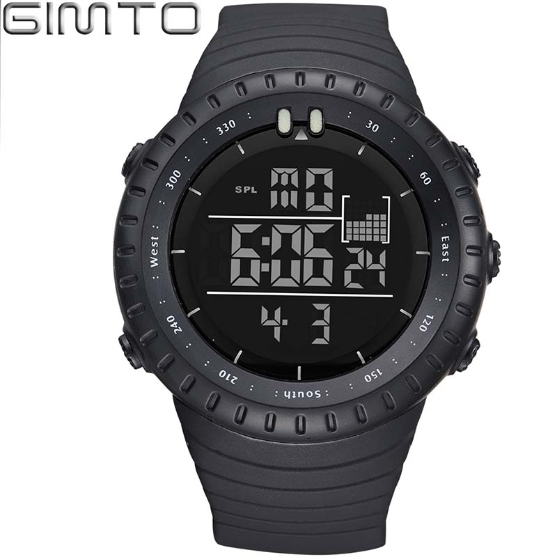 Men Fashion Shock Sports Watches  Led Digital Watch  For Men Silicone - Men's Watches