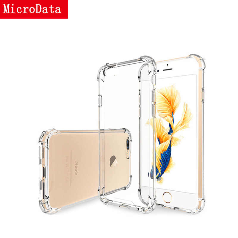 Airbag Drop Protection Case For iPhone 7 Transparent Phone Cases Soft TPU Clear Back Cover Coque For iPhone 8 7 6 6S Plus 5 X XS