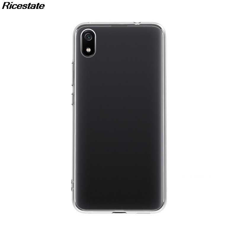 شاومي Redmi 7A رقيقة جدا واضح الحال بالنسبة Redmi7A شفافة لينة سيليكون بولي TPU غطاء إطار هاتف محمول قذيفة ل Redmi 7A واضح
