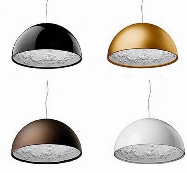 modern minimalism frp resin material foyer e27 led pendant light