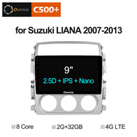 Ownice C500+ G10 Android 8.1 2G RAM 8 Core car dvd video player for Suzuki Liana 2007 2013 NAVI GPS Support dab+ 4G LTE TPMS