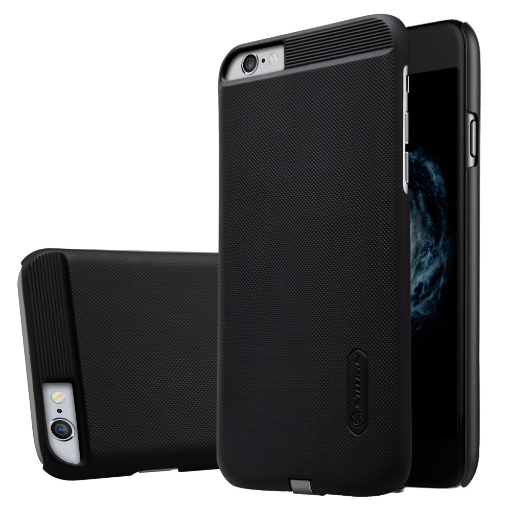 For Apple <font><b>iPhone</b></font> <font><b>6</b></font>/6s Magic Case Coque Nillkin Intelligent <font><b>Qi</b></font> Wireless Charger Frosted Back Cover Shell for <font><b>iPhone</b></font> <font><b>6</b></font> Case image