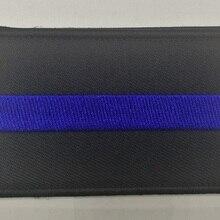 Тонкая Голубая линия патч сотрудник правоохранительных органов SWAT патруль полиции живет материя крюк-петля Стиль бэк-Патч Знак