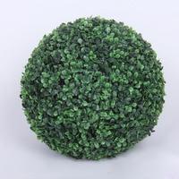 2 unids/lote Bola de 50 cm de Diámetro de Plástico Artificial de madera de Boj Hierba Para Interior y Exterior Decoración Del banquete de Boda ZA3763