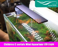 Chihiros Aquarium LED Light Clip on Fixture Water Proof With Brightness Control For Fish And Plant Table Tank Hightlight Lamp A