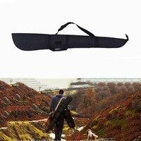 130センチ狩猟ライフルバッグ屋外ショットガンキャリーバッグ600dオックスフォードエアガン射撃絵画ゲーム銃ケース黒