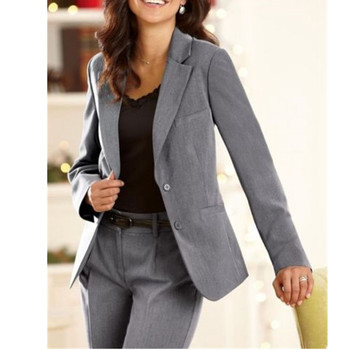 womens formal wear pantsuits Notch Lapel Women's Business Office Tuxedos Jacket+Pants Ladies Suit Custom Made