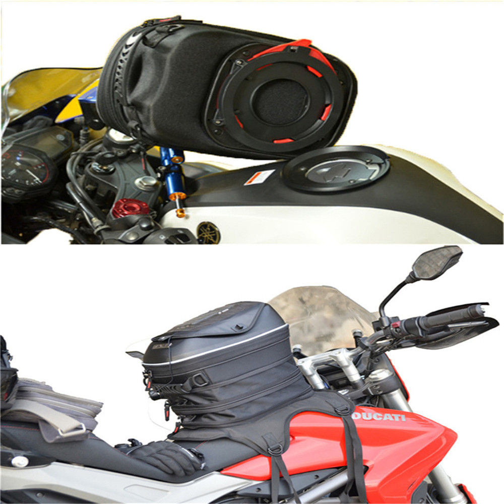 Motorcycle Expandable Magnet and Mechanical Ring Fix Tank Bag Racing Backpack for Benelli BN600/Tre 899 K motorcycle expandable magnet and mechanical ring fix tank bag racing backpack for benelli bn600 tre 899 k