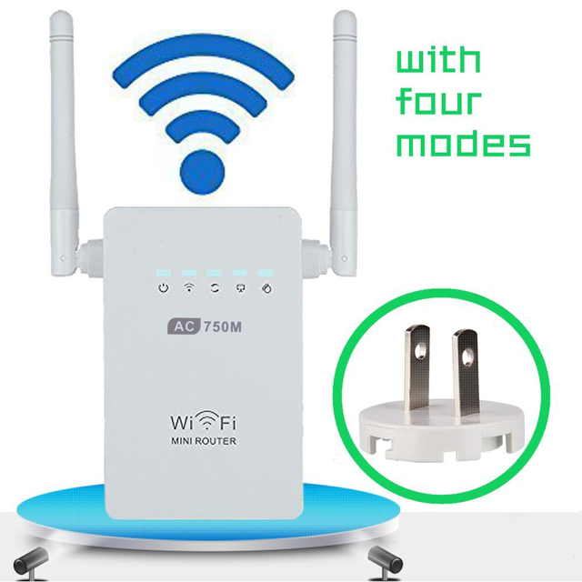 10 pcs Wireles AC750 Dual Band 2.4 Ghz/5 Ghz 750 Mbps Wi-fi Repetidor 802.11ac/n/b/g Rede Router Faixa Expander Signal Booster