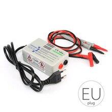 EU Plug LED Tester Ultra Bright Digital Backlight Smart Voltage Current Tester with Tester Pens Rt300m Lamp Beads Light Tester