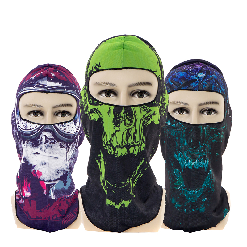 Dust proof Motorcycle Face Masks Windproof Mouth Cover Protective Breathable Motorcycle Masks Winter Ski Warm