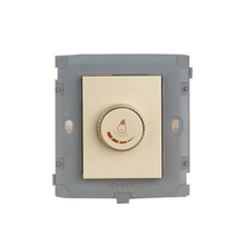 цена на CHINT Electric NEW2K Light Champagne Gold Tuning Switch Module Dimmer Switch Module Speed Switch Module