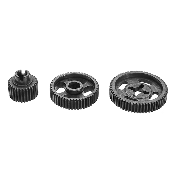 Feiyue FY-03 1/12 Remote Control Model Car Gearbox Gear 3 Pcs Upgrade Accessories Steel Gear 1 12 feiyue 1 12 fy01 fy02 fy03 rear gear box assembly fyhbx01 rc car parts