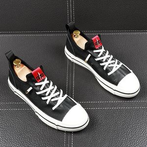 Image 2 - CuddlyIIPanda Men Fashion Casual Shoes Youth Trending Genuine Leather Breathable Leisure Street Shoes Male Luxury Designer Shoes