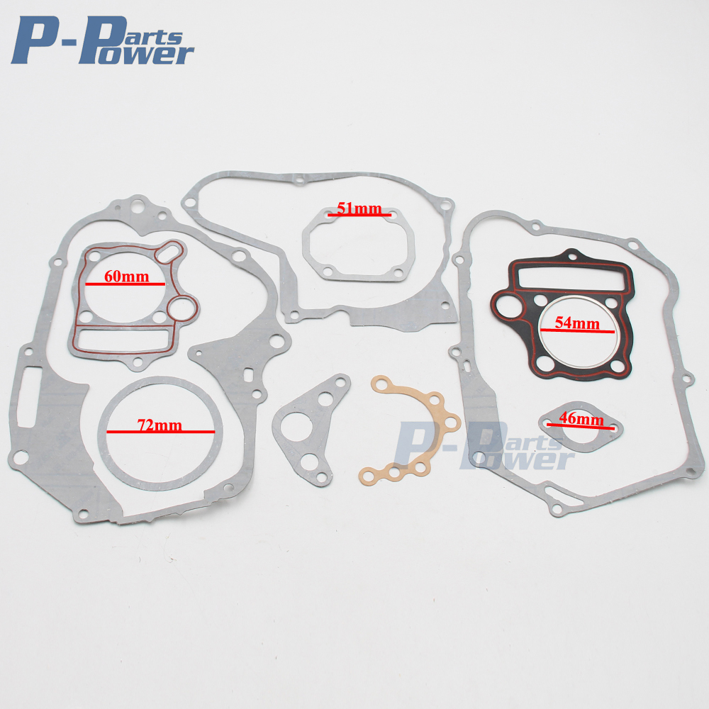 Engine Head Gasket Set Kit for 125cc Pit Pro Trail DIRT BIKE ATV BUGGY