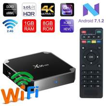 X96 Mini Android 7.1 IPTV France Box 1 Tahun SUB TV Kode Arab Perancis IPTV Box 2G/16G 1GB/8GB IP TV Box Belgia Turki Portugal(China)