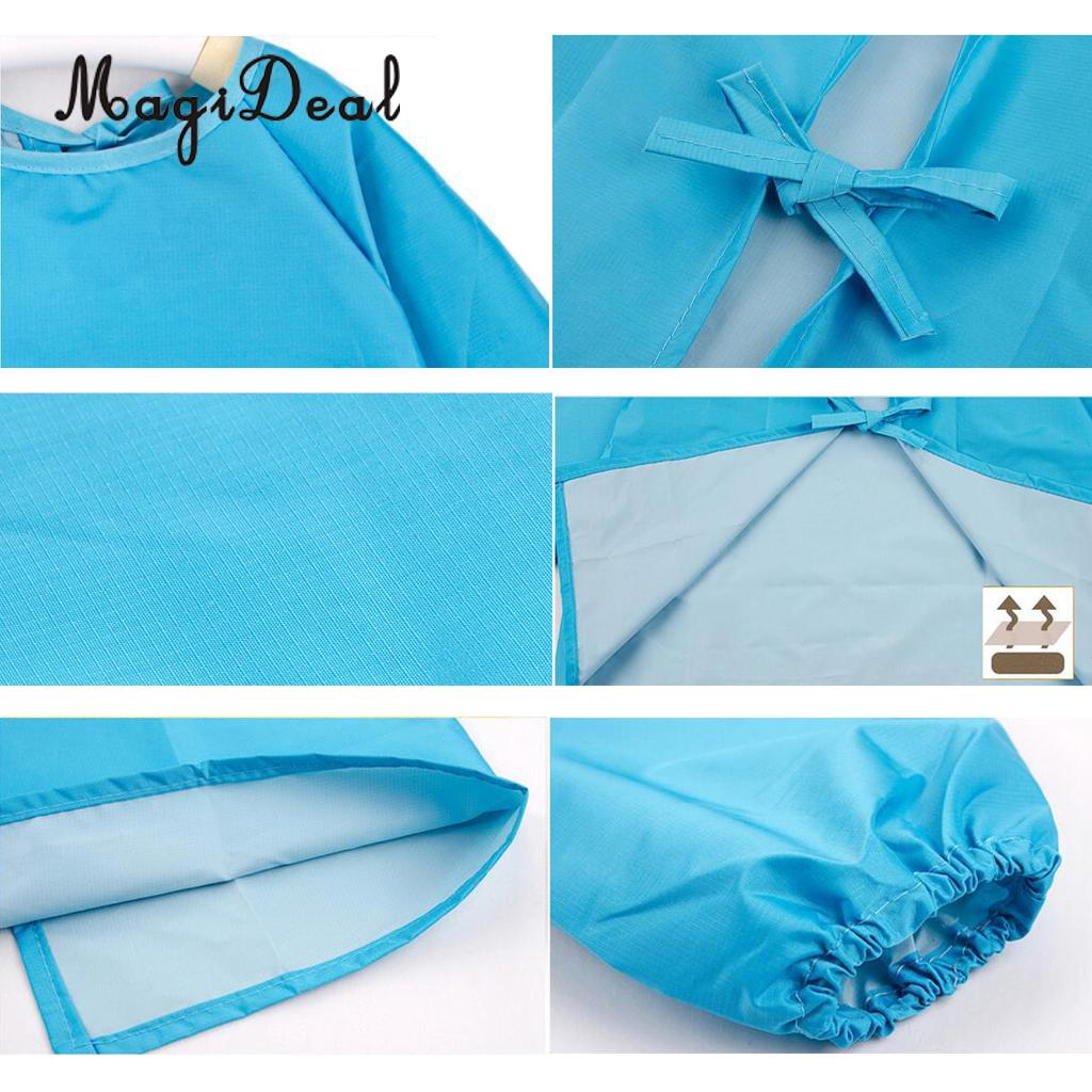 MagiDeal Waterproof Kid Child Apron for Cooking Painting Pottery ...