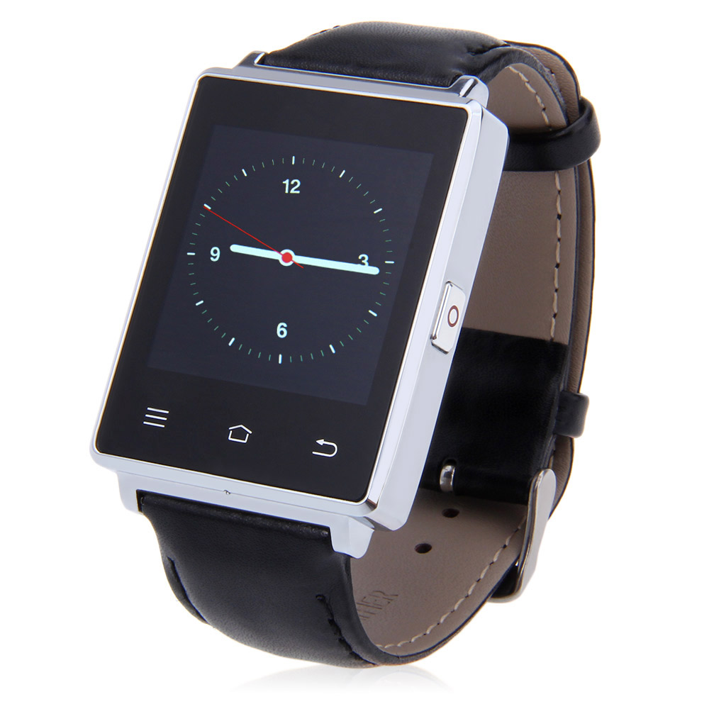 NO.1 D6 1.63 inch 3G Smartwatch Phone Android 5.1 MTK6580 Quad Core 1GB RAM 8GB ROM GPS WiFi Bluetooth 4.0 Heart Rate Monitoring