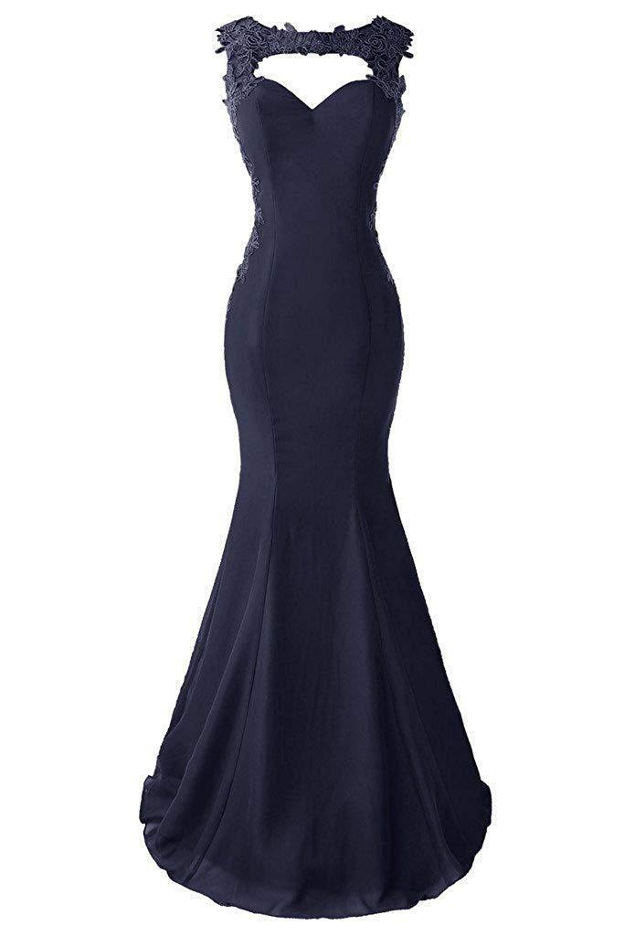 Bealegantom longues robes De bal De sirène 2019 perlée rouge noir Royal bleu robes De soirée Longo Vestido De Novia QA1596