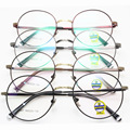New Including Too Lang Fund Myopia Spectacle Frame Korean Ancient Ways Exceed Light Metal Thin Edge Circle Frame Glasses