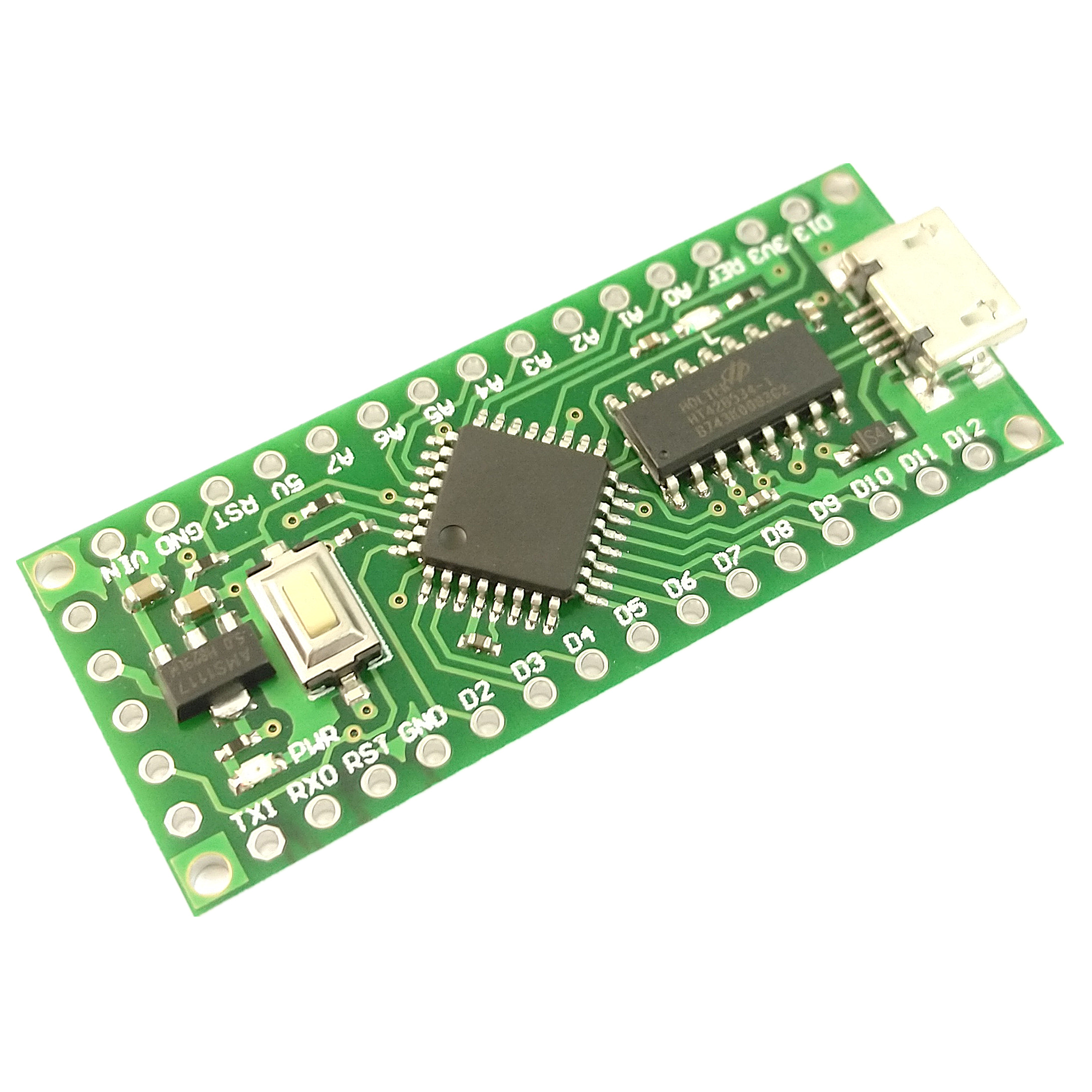 1pcs LGT8F328P-LQFP32 MiniEVB Alternative Arduino Nano V3.0 ATMeag328P HT42B534-1 SOP16 USB Driver