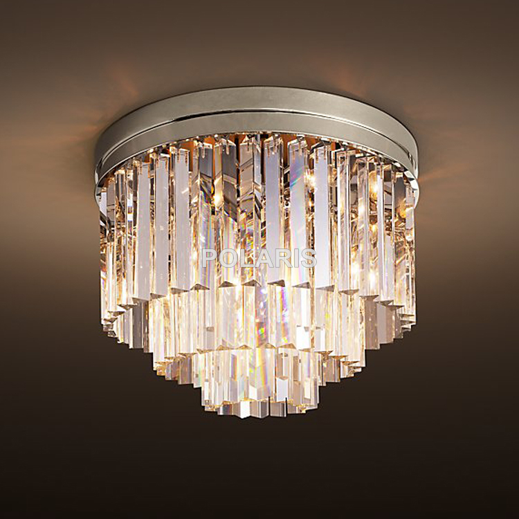 Free shipping modern vintage chandelier crystal flush ceiling free shipping modern vintage chandelier crystal flush ceiling mounted light for home hotel decoration in chandeliers from lights lighting on aloadofball Choice Image