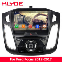 KLYDE 9 Octa Core 4G WIFI Android 8.0 7.1 4GB RAM 32GB ROM Car DVD Player Radio Stereo GPS Navigation For Ford Focus 2012 2017