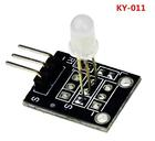 KY-011 5mm Two Color Red and Green LED Sensor Common Cathode Module for DIY Starter Kit 2-Color KY011