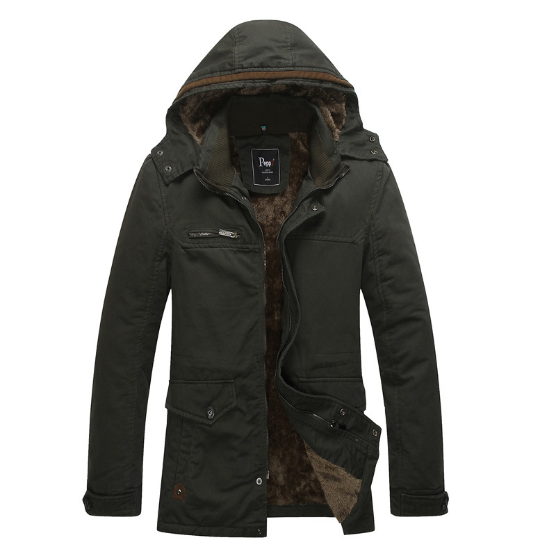 2018 New Casual Keep Warm Men Jacket Autumn Jackets Coat Mens Stand Collar Male Plus Size M-4xl