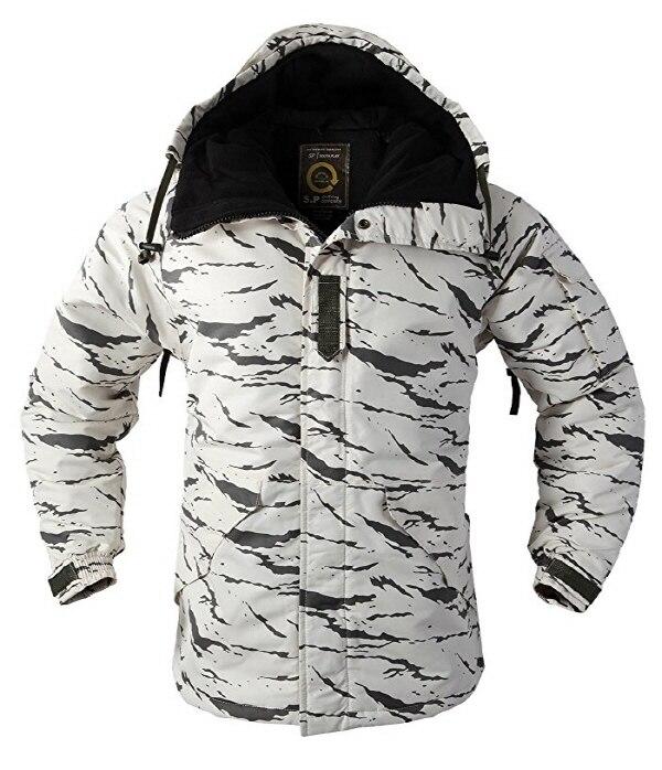 """Премиум """"SouthPlay"""" Зимний Сезон Водонепроницаемый 10000 мм согревающие лыжные и сноубордические коричневые Camoflage куртки - Цвет: White Sand Jacket"""